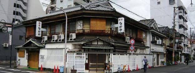 どこか懐かしい風情の街・旧遊郭「松島新地」
